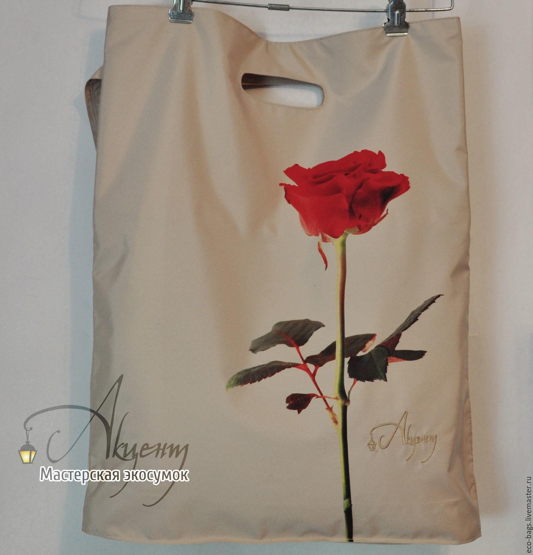 "Сумка-пакет ""La Fleur"", Сумка-шоппер, Гай,  Фото №1"