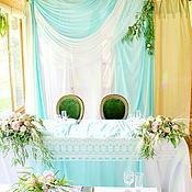 Свадебный салон ручной работы. Ярмарка Мастеров - ручная работа Мятная свадьба. Handmade.