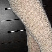 Stockings handmade. Livemaster - original item breeches made of goat down. Handmade.