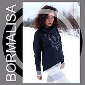 Одежда handmade. Livemaster - original item Sweatshirt Borm. Handmade.