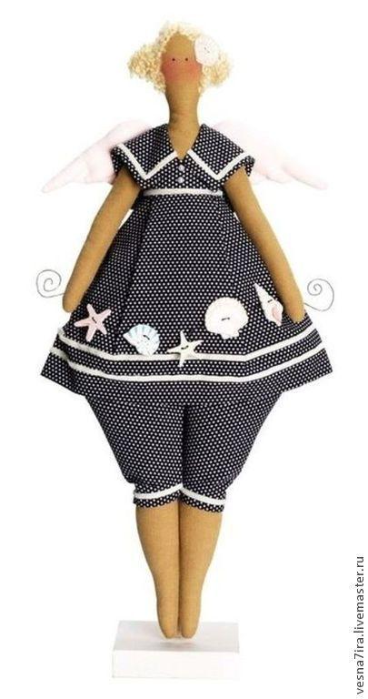 """Куклы и игрушки ручной работы. Ярмарка Мастеров - ручная работа. Купить Набор для шитья куклы  :""""Морской ангел"""". Handmade. Разноцветный"""