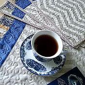 """Для дома и интерьера ручной работы. Ярмарка Мастеров - ручная работа Ланчматы """"Иней"""". Handmade."""