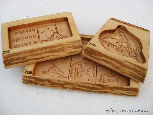 Формы для пряников сделанные по заказу для туристических компаний.