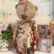 Куклы и игрушки ручной работы. Ярмарка Мастеров - ручная работа Мишка Финч. Handmade.