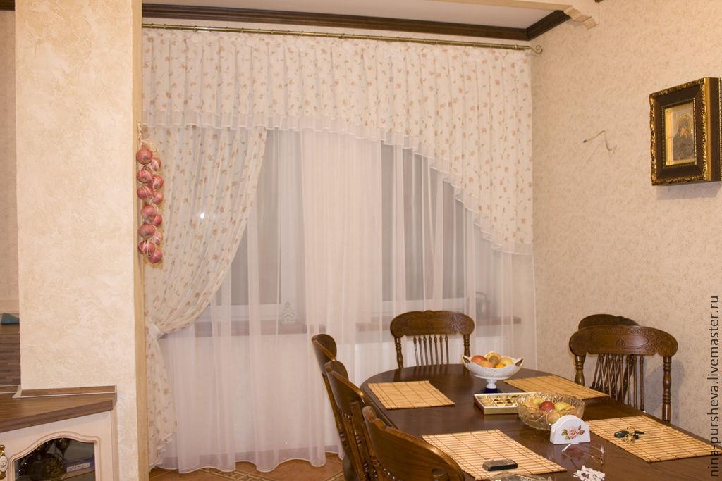 Шторы на кухню, Шторы, Москва, Фото №1