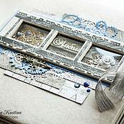 handmade. Livemaster - original item Custom wedding family photo album. Handmade.