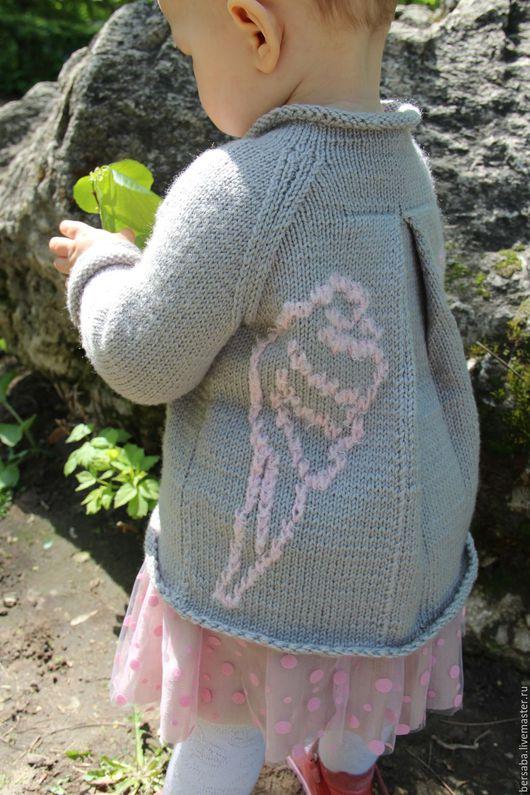 Одежда для девочек, ручной работы. Ярмарка Мастеров - ручная работа. Купить Свитер Мой ангел. Handmade. Свитер для девочки