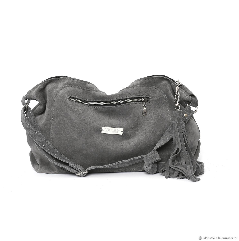Crossbody Bag Suede Shoulder Bag with Crossbody Strap, Crossbody bag, Moscow,  Фото №1