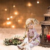 Куклы и игрушки handmade. Livemaster - original item Little doll girl for big girls. Handmade.
