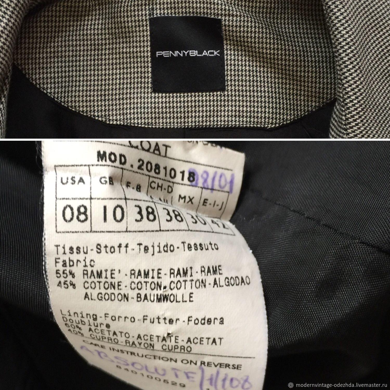 e9985625 ... Одежда. Винтаж: Пиджак PENNY BLACK. Modern&Vintage Одежда. Ярмарка  Мастеров. Женский пиджак. Одежда. Ярмарка Мастеров - ручная работа. Купить  ...