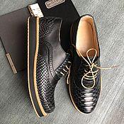 Обувь ручной работы handmade. Livemaster - original item Oxfords