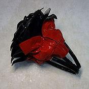 """Сумки и аксессуары ручной работы. Ярмарка Мастеров - ручная работа Кожаная сумка-роза """"Вилора"""" NEW. Handmade."""