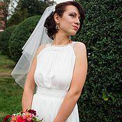 Свадебный салон ручной работы. Ярмарка Мастеров - ручная работа Свадебное платье в греческом стиле. Handmade.