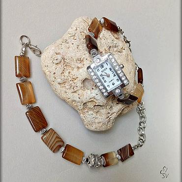 Украшения ручной работы. Ярмарка Мастеров - ручная работа Часы с браслетом.. Handmade.