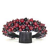 Украшения handmade. Livemaster - original item A rim of beads and stones (agate). Handmade.