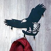 """Для дома и интерьера ручной работы. Ярмарка Мастеров - ручная работа Вешалка-ключница """"Орёл"""". Handmade."""