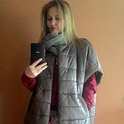 Одежда handmade. Livemaster - original item Coat sleeveless
