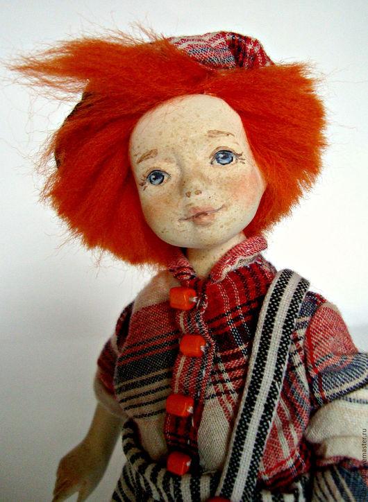 Авторская кукла  Любови Столповской, купить куклу, купить коллекционную куклу, кукла из полимерной глины.