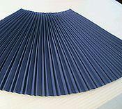 Одежда ручной работы. Ярмарка Мастеров - ручная работа Плиссировка ткани двойная фантазийная. Handmade.