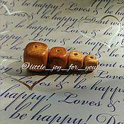 Материалы для творчества ручной работы. Ярмарка Мастеров - ручная работа Кубик можжевеловый 8, 10, 13, 15, 17, 20 мм. Handmade.