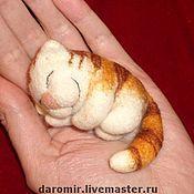 Куклы и игрушки ручной работы. Ярмарка Мастеров - ручная работа Кот сплюшка. Handmade.