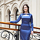 Dresses handmade. Livemaster - handmade. Buy Dress 013.Silk dress, fancy dress