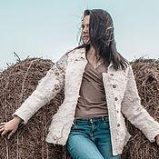 "Одежда ручной работы. Ярмарка Мастеров - ручная работа Куртка валяная ""Душа моя"". Handmade."