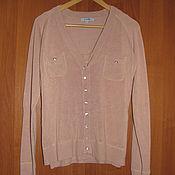 Винтаж handmade. Livemaster - original item Vintage clothing: Knitted two piece pink sweater with top. Handmade.