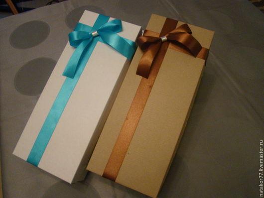 Персональные подарки ручной работы. Ярмарка Мастеров - ручная работа. Купить коробочка для упаковки  подарков. Handmade. Коричневый, коробочка для подарка
