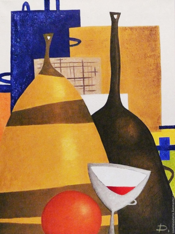 """Картина маслом на холсте """"Геометрия порядка"""", Картины, Москва,  Фото №1"""