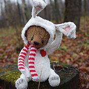Куклы и игрушки ручной работы. Ярмарка Мастеров - ручная работа Зайчишка :). Handmade.