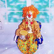 """Куклы и игрушки ручной работы. Ярмарка Мастеров - ручная работа клоун """"Феликс"""". Handmade."""