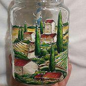 """Посуда ручной работы. Ярмарка Мастеров - ручная работа Кружка """"Италия"""". Handmade."""