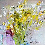 Картины и панно handmade. Livemaster - original item Picture bouquet - Golden morning. Handmade.