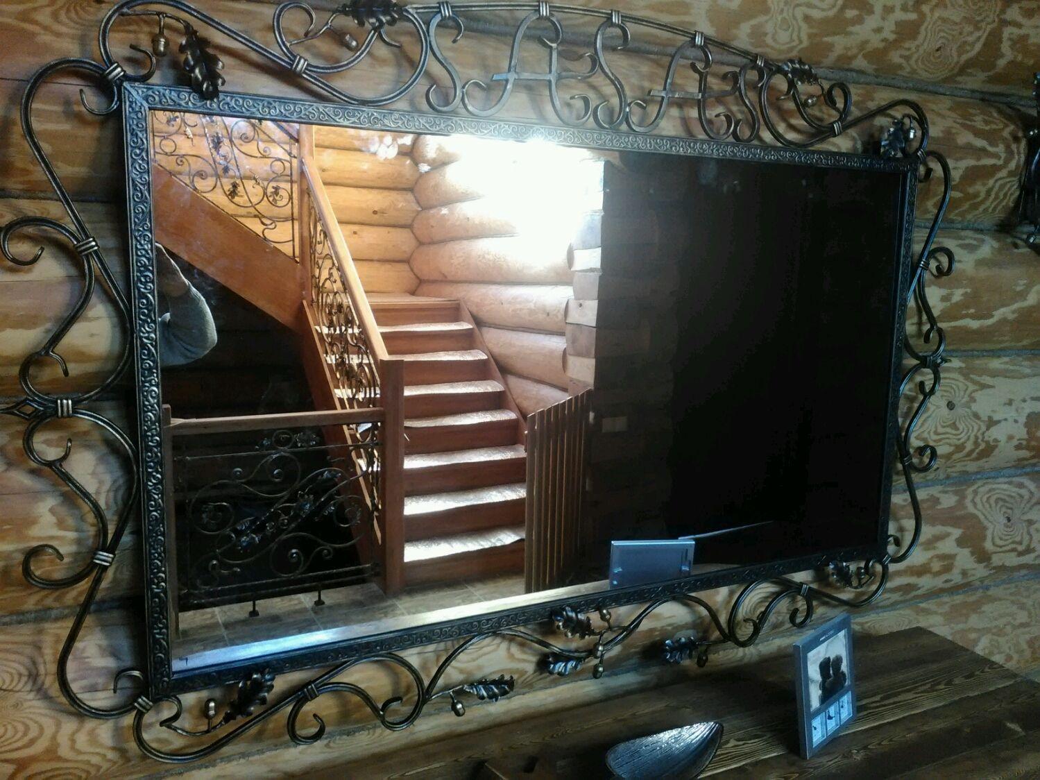 зеркало в кованой раме фото следующем году