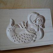 Для дома и интерьера ручной работы. Ярмарка Мастеров - ручная работа Пряничная доска из дерева Русалка. Handmade.