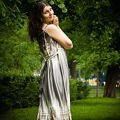 Одежда ручной работы. Ярмарка Мастеров - ручная работа Платье Переход на летнее время. Handmade.
