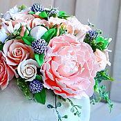 Цветы и флористика handmade. Livemaster - original item Flowers in a bowl. Handmade.