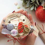 Подарки к праздникам ручной работы. Ярмарка Мастеров - ручная работа Любимому мужу Баночка желаний. Handmade.