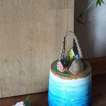Для дома и интерьера ручной работы. Ярмарка Мастеров - ручная работа Стопор для дверей На краю моря. Handmade.
