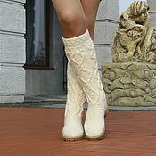 Обувь ручной работы handmade. Livemaster - original item Boots demi-season
