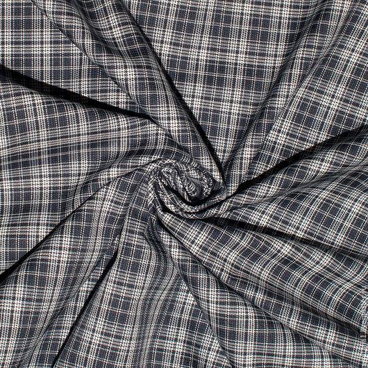 Шитье ручной работы. Ярмарка Мастеров - ручная работа. Купить Рубашечная  ткань в клетку TOMMY HILFIGER. Handmade. Итальянские ткани