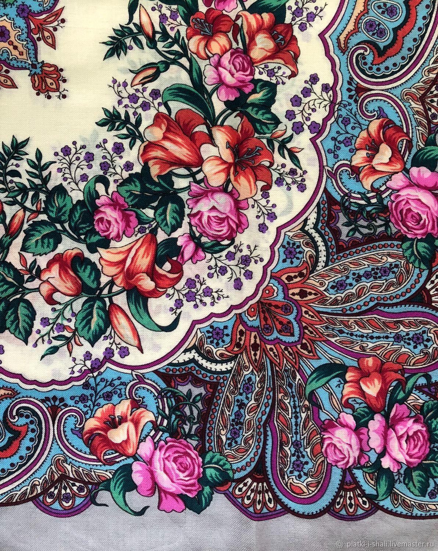 орнамент на платке рисунок