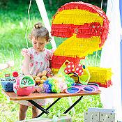 Подарки к праздникам ручной работы. Ярмарка Мастеров - ручная работа Пиньята - Цифра 2. Handmade.