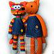 Knitted toy. Fox. Stuffed Toys. GALAtoys. My Livemaster. Фото №5