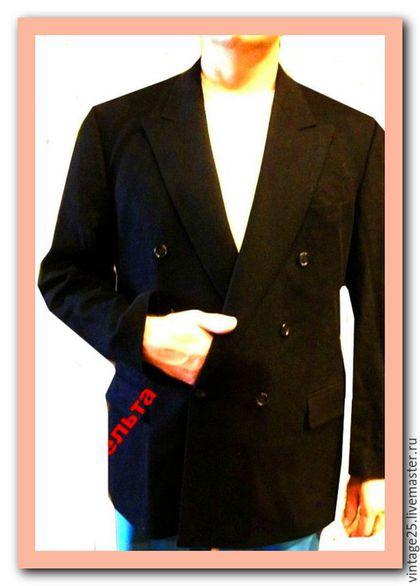 Одежда. Ярмарка Мастеров - ручная работа. Купить 100 % Кашемир, Пиджак в идеале. Handmade. Черный, кашемировый пиджак