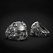 Украшения handmade. Livemaster - original item Ring: Skull Ring Vintage. Handmade.