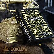 """Сумки и аксессуары handmade. Livemaster - original item Клатч-книга """"The Great Gatsby"""". Handmade."""
