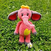 Куклы и игрушки ручной работы. Ярмарка Мастеров - ручная работа Плюшевый Слоник (слоняша). Handmade.