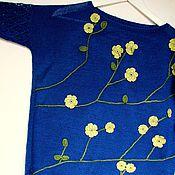 """Одежда ручной работы. Ярмарка Мастеров - ручная работа Джемпер """"Весна в душе"""". Handmade."""